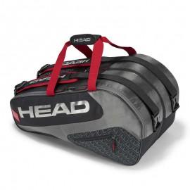 Paletero Head Elite Supercombi negro/rojo