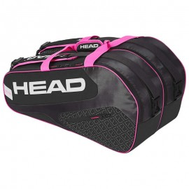 Paletero Head Elite Supercombi negro/rosa