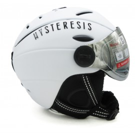 Casco esquí Hysteresis blanco unisex