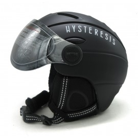 Casco esquí Hysteresis negro unisex