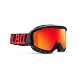 Máscara esquí  Julbo Mars negro gris rojo cat 3 hombre