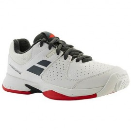 Zapatilla Babolat Pulsion All Court niño blanco/gris