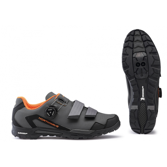 Zapatillas Northwave Outcross 2 Plus antracita-naranja