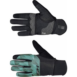 Guante Northwave Power 3 Gel Pad negro-verde forest