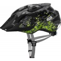Casco Abus Mountx grey camouflage junior
