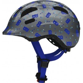 Casco Abus Smiley 2.1 blue mask infantil