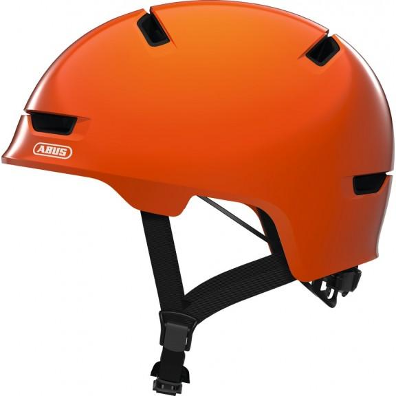 casco abus scraper 3 0 kid shiny orange infantil deportes moya. Black Bedroom Furniture Sets. Home Design Ideas