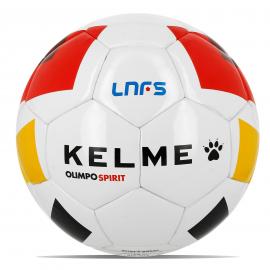 Balón fútbol sala Kelme Olimpo Spirit LNFS blanco