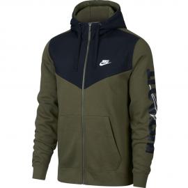 Sudadera Nike HBR+ Fleece verde/negro hombre
