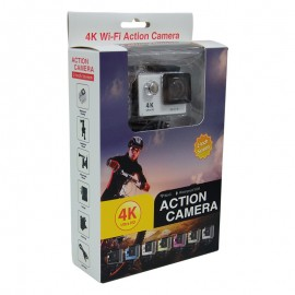 Action camera 4k wifi gris