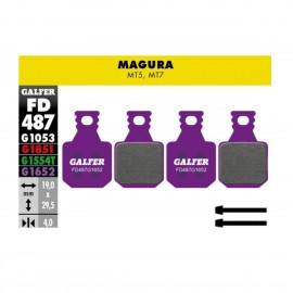 Par pastillas Galfer E-Bike Magura MT5-MT7