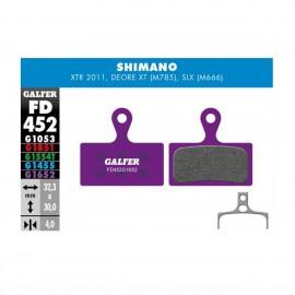 Par pastillas Galfer E-Bike Shimano XTR-SLX
