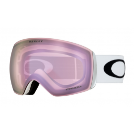Máscara Oakley Flight Deck matte white prizm hi pink iridium