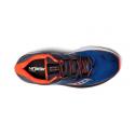 Zapatillas running Saucony Guide Iso azul naranja hombre
