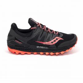 Zapatillas running Saucony Xodus Iso 3 negro naranja hombre