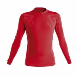 Camiseta térmica Luanvi Sahara rojo