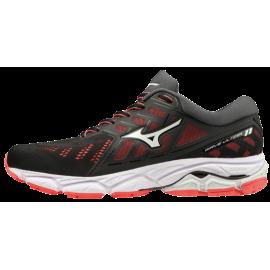 Zapatillas running Mizuno Wave Ultima 11 negro/rojo mujer