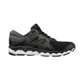 Zapatillas running Mizuno Wave Sky 2 negro/gris hombre