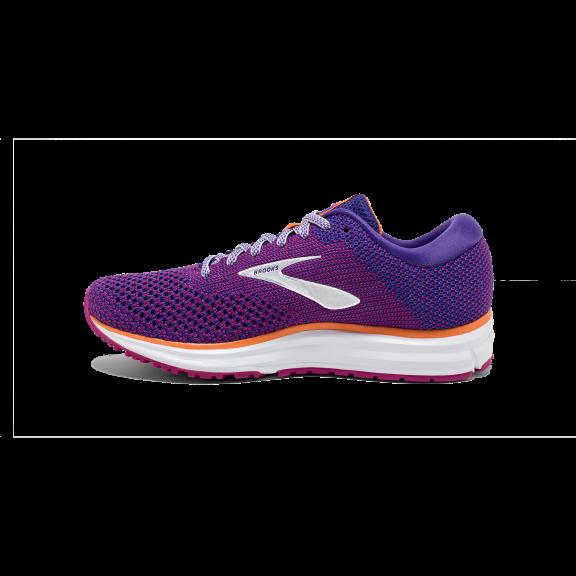 Zapatillas running Brooks Revel 2 morada mujer - Deportes Moya 4a88a86245c