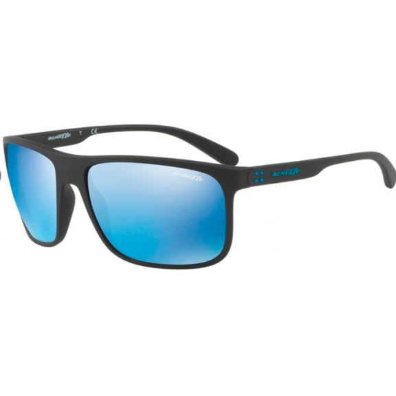 7c6cc443a8 Gafas Arnette Bushing An4244 01/55 negro mate lentes azul - Deportes ...