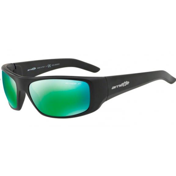 3bb92c554d Gafas Arnette Hot Shot An4182 01/1l negro mate lentes verde ...
