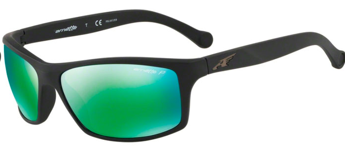 eca63048b8 Gafas Arnette Boiler An4207 01/1l negro mate lentes verde - Deportes Moya