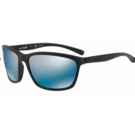 Gafas Arnette Hand Up An4249 01/22 negro mate lentes azul