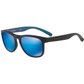Gafas Arnette Woke An4252 254725  negro mate lentes azul