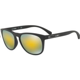 Gafas Arnette Hardflip An4245 01/8n negro mate lente oro