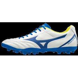 Zapatillas fútbol Mizuno Monarcida Neo Select AG blanco/azul