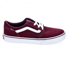 Zapatillas Vans Chapman Stripe Suede rojo