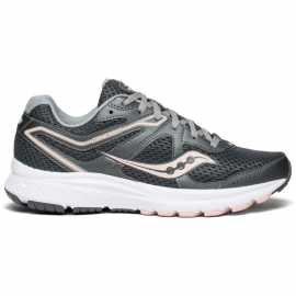 Zapatillas running Saucony Cohesion 11 gris rosa mujer