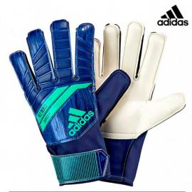 Guantes de fútbol Adidas Predator junior azul verde
