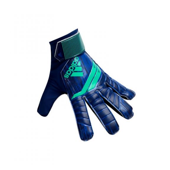 Guantes de fútbol Adidas Predator junior azul verde - Deportes Moya a17913598b139