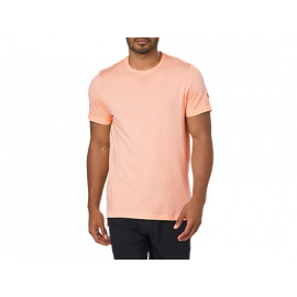 Camiseta Asics Seamless SS salmón hombre