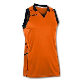 Camiseta Cancha Joma II naranja negro