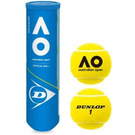 Pelota tenis Dunlop AO pack2 4 bolas