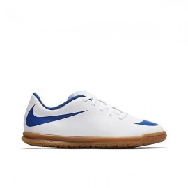 Zapatillas de Fútbo Salal Nike Bravata II IC junior blanco