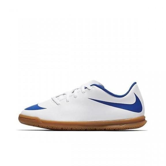 Zapatillas de Fútbo Salal Nike Bravata II IC junior blanco ... b0cb66ead693e