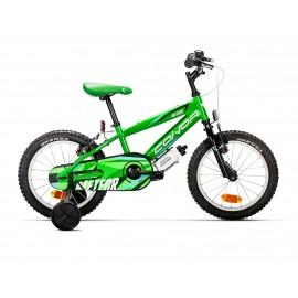 """Bicicleta Conor Meteor 16"""" Verde"""