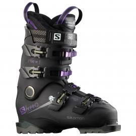 Botas esquí Salomon X Pro 100 W negro mujer