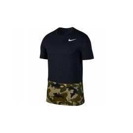 Camiseta Nike Breathe negra hombre