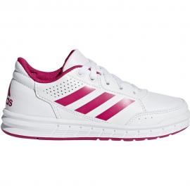 Zapatillas Adidas Altasport k blanco/rosa unisex
