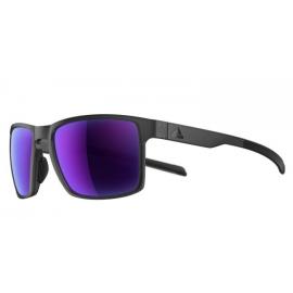 Gafas Adidas Wayfinder coal matt lentes violeta espejo