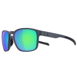 Gafas Adidas Protean raw steel matt lentes azul espejo