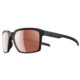 Gafas Adidas Evolver negro mate  lentes lst active silver