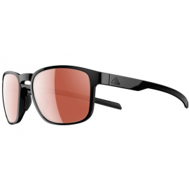 Gafas Adidas Protean negro brillo lentes lst active silver