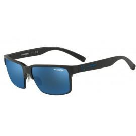 Gafas Arnette Silentio AN4250 01/55 negro mate lentes azul