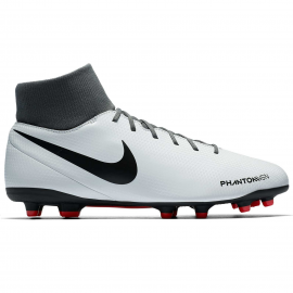 Zapatillas fútbol Nike Phantom VSN club DF FG/MG blanca