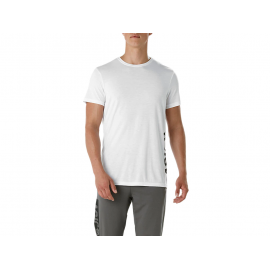 Camiseta Asics Esnt Dbl Gpx SS blanco hombre